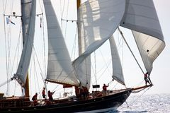 Panerai klassische Yacht-Herausforderung 2008 Stockfotos