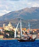 Panerai klassische Yachten fechten 2008 an Lizenzfreie Stockfotos