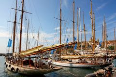 Panerai klassische Yachten fechten 2008 an Stockfoto