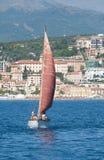 Panerai klassische Yachten fechten 2010 - Imperia an Lizenzfreie Stockfotografie