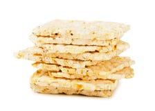 Panes de la dieta del arroz Imagen de archivo libre de regalías