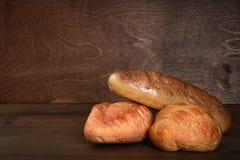 Panes del pan Imágenes de archivo libres de regalías
