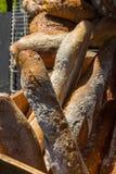 Panes del pan francés del estilo Imágenes de archivo libres de regalías