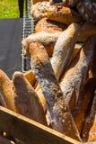 Panes del pan francés del estilo Imagen de archivo libre de regalías