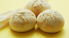 Panes del pan del trigo metrajes