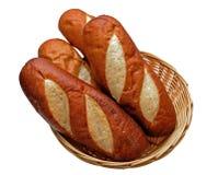 Panes del panecillo del pretzel Foto de archivo