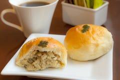 Panes deliciosos del pollo y de la seta Fotografía de archivo libre de regalías