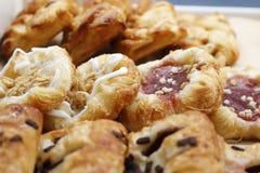 Panes frescos del dulce de los pares foto de archivo libre de regalías