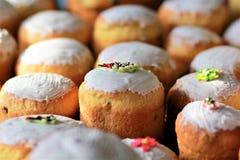 Panes recientemente cocidos del pan de pascua Imágenes de archivo libres de regalías