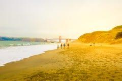 Panettiere Beach San Francisco Fotografia Stock Libera da Diritti