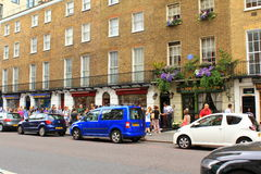 Panettiere Street London del museo di Sherlock Holmes Immagini Stock