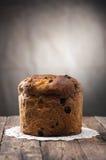 Panettone Χριστούγεννα ιταλικά κέικ Στοκ Φωτογραφίες