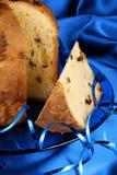 panettone итальянки рождества торта Стоковые Изображения RF