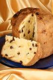 panettone итальянки рождества торта Стоковое Изображение RF