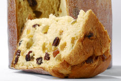 Panettone. Baked traditional Christmas fruit from different countries Stock Image