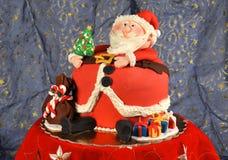 Panettone Babbo Natale Zdjęcia Royalty Free