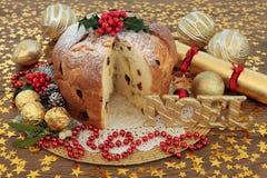 Panettone Cake Royalty Free Stock Photo