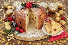 Panettone Cake Royalty Free Stock Image