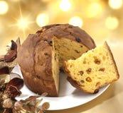 Panettone cake Stock Image