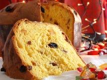 Panettone Celebration Cake Stock Photos