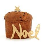 Panettone Christmas Cake royalty free stock photos