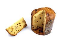 Panettone christmas traditional Royalty Free Stock Photo