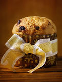 Panettone do Natal Imagem de Stock Royalty Free
