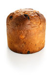 Panettone, italian christmas bread Royalty Free Stock Images