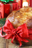 Panettone Italian Christmas cake Royalty Free Stock Photo