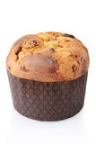 Panettone, italian Christmas cake Royalty Free Stock Images