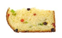 Panettone, la torta italiana de la Navidad Foto de archivo libre de regalías