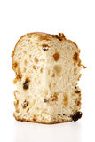 Panettone slice Stock Photos