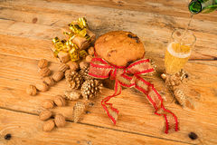 Panettone still life Stock Images
