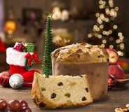 Panettone royalty free stock image