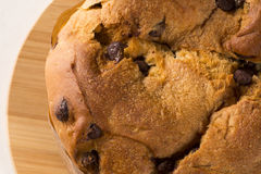 Panettone. Is the traditional Italian dessert for Christmas Royalty Free Stock Image