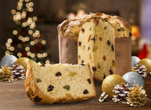 Panettone royalty free stock photos
