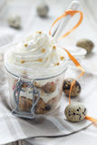 Panettone trifle Royalty Free Stock Photos