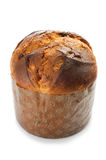 Panettone on white Royalty Free Stock Photos