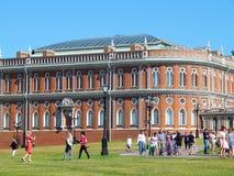 Panez le bâtiment dans le musée et la réservation de Tsaritsyno Photos libres de droits