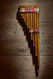 Panflute Royalty Free Stock Images