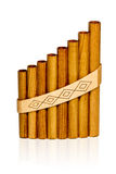 Panflute Royalty Free Stock Photography