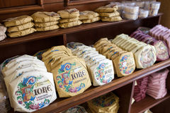 Panforte dans Siena Grocery Photos stock