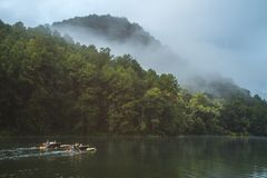Pang Oung Lake at Mae hong son Thailand. Stock Image
