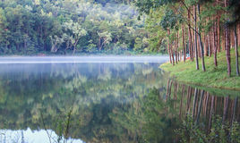 Pang-oung Lake , Thailand Royalty Free Stock Photography
