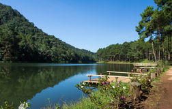 Pang-oung Lake , Thailand Stock Photos