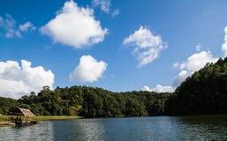 Pang-Oung, Maehongson, Thailand. Lake in a summer forest at Pang Oung, Mae Hong Son ,Thailand royalty free stock photo