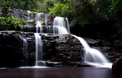 Pang Sida Waterfall Imagenes de archivo