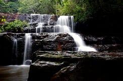 Pang Sida Waterfall Imagen de archivo libre de regalías