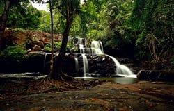 Pang Sida Waterfall Fotos de archivo libres de regalías