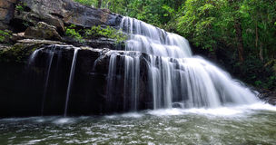 Pang Sida Waterfall Royalty Free Stock Image